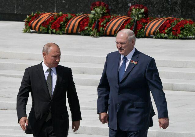 Vladimir Putin-Aleksandr Lukaşenko