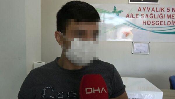 Balıkesir'de hemşireleri döven saldırgan - Sputnik Türkiye
