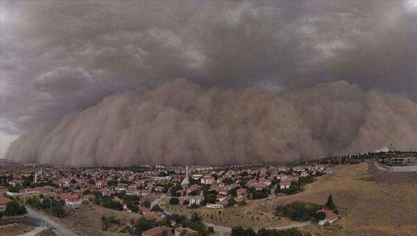 toz taşınımı, toz bulutu - Sputnik Türkiye