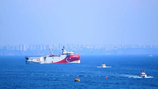 Oruç Reis gemisi - Sputnik Türkiye