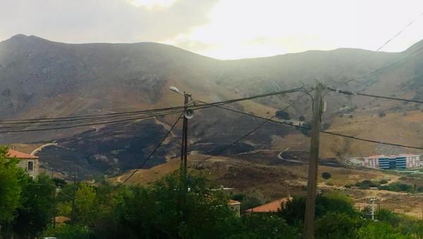 Gökçeada'da çıkan yangın kontrol altına alındı - Sputnik Türkiye