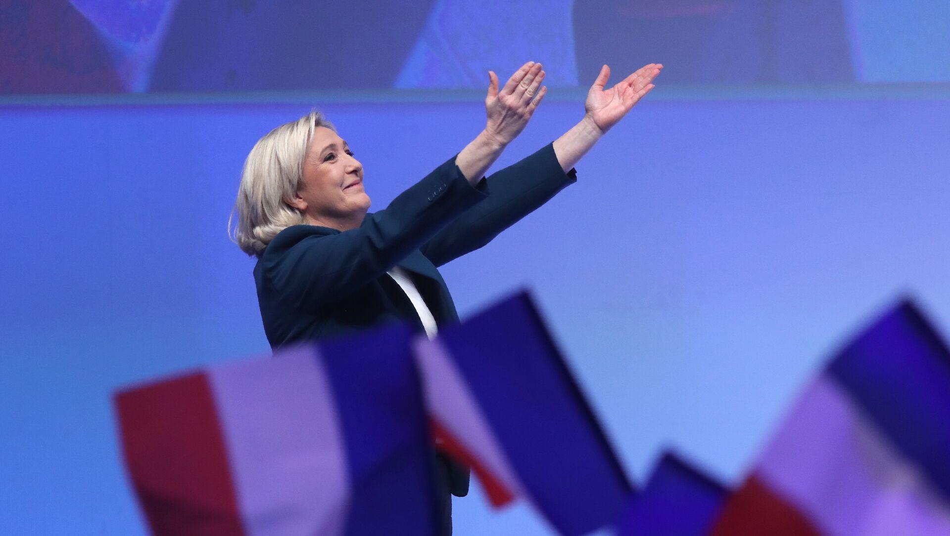 Marine Le Pen - Sputnik Türkiye, 1920, 26.04.2021