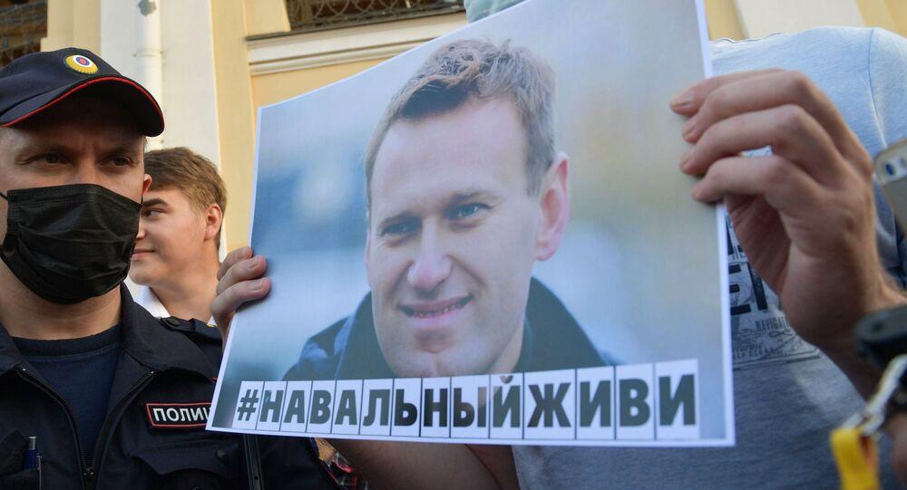 Rus muhalif lider Aleksey Navalnıy
