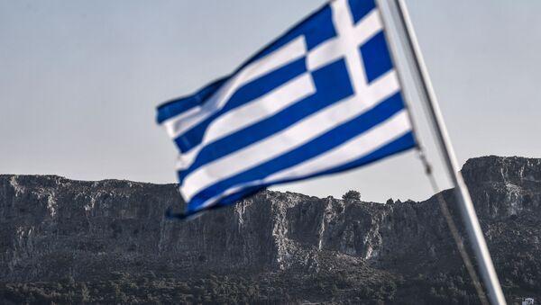 Yunanistan - Yunanistan bayrağı - Yunanistan bayrak - Sputnik Türkiye