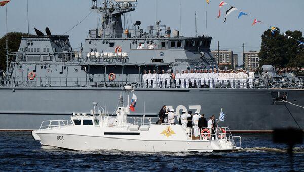 Rusya deniz geçti töreni - Sputnik Türkiye