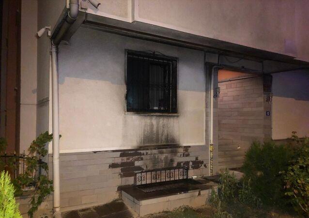 Ankara'da bir kişi tartıştığı ailesinin evini kundakladı
