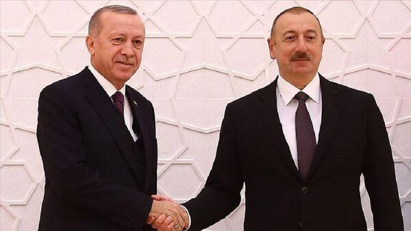 Recep Tayyip Erdoğan-İlham Aliyev - Sputnik Türkiye