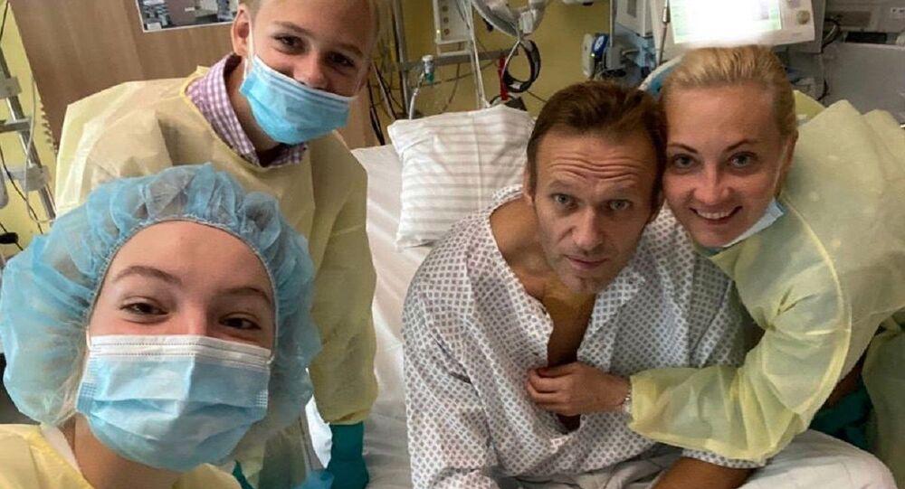 Rus muhalif Aleksey Navalnıy, Instagram hesabından fotoğrafını paylaştı.