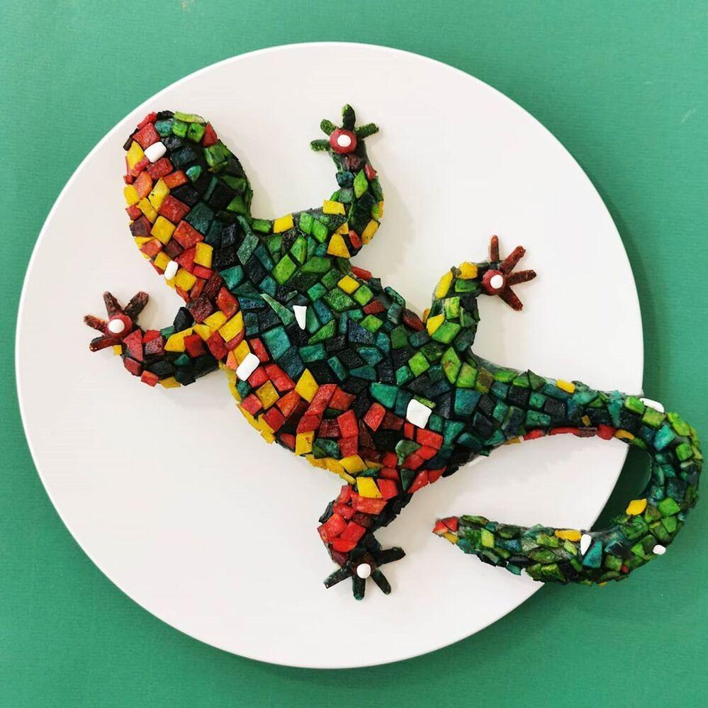 Belçikalı  sanatçı, hazırladığı tüm tabakların yenmesi gerektiğini söylüyor