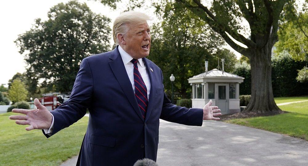 ABD Başkanı Donald Trump-Beyaz Saray