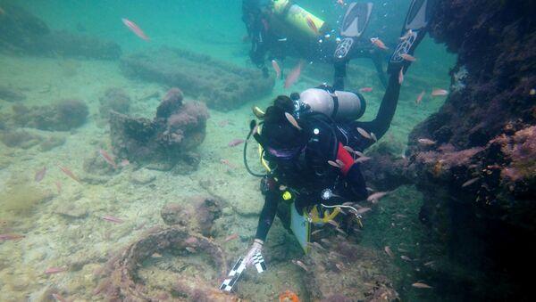 Meksika'da yapılan araştırmalarda arkeologlar ilk kez, 1850'li yıllarda Mayaları taşıdığı düşünülen bir köle gemisine ait kalıntılara ulaştı. - Sputnik Türkiye