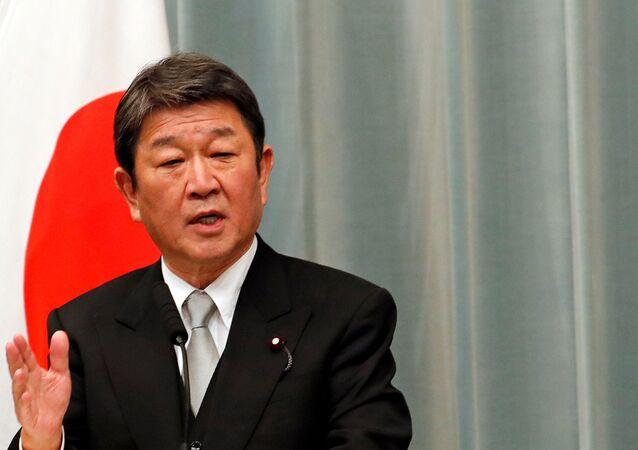 Japonya Dışişleri Bakanı Toshimitsu Motegi