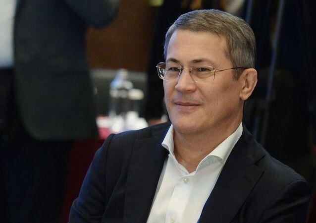 Rusya Federasyonu'na bağlı Başkurtistan Cumhuriyeti Başkanı Radiy Habirov