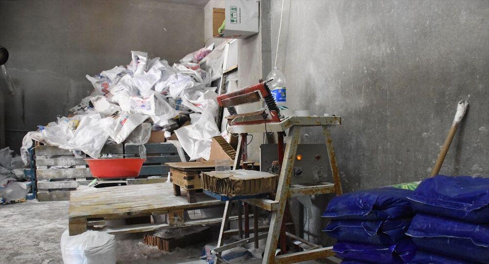 Gaziantep'te 2 ton 600 kilogram sahte deterjan ele geçirildi