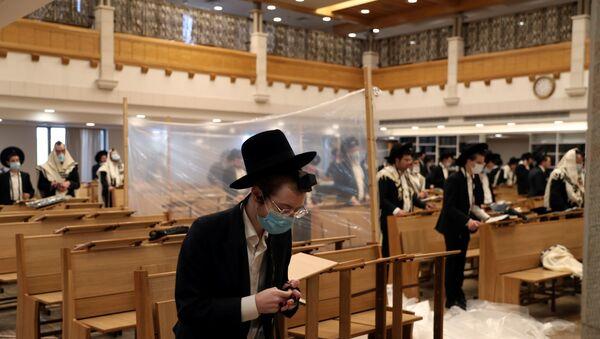Kudüs - İsrail - sinagog - Yahudi - koronavirüs -  Kovid-19 - Sputnik Türkiye