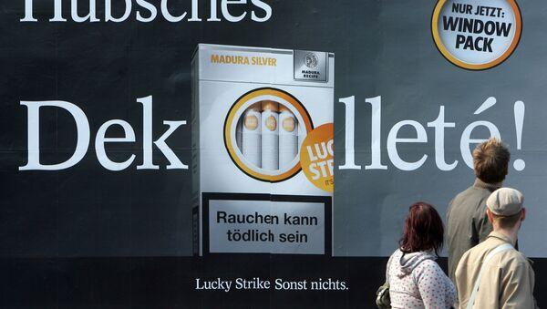 Almanya-sigara reklamı-tütün ürünleri reklamı - Sputnik Türkiye