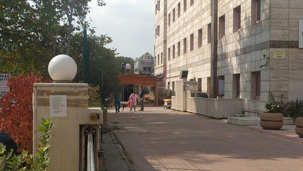 Bursa Yüksek İhtisas Eğitim Araştırma Hastanesi ek bina - Sputnik Türkiye