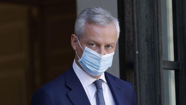 Fransa Maliye Bakanı Bruno Le Maire, koronavirüs testinin pozitif çıktığını duyurdu. - Sputnik Türkiye