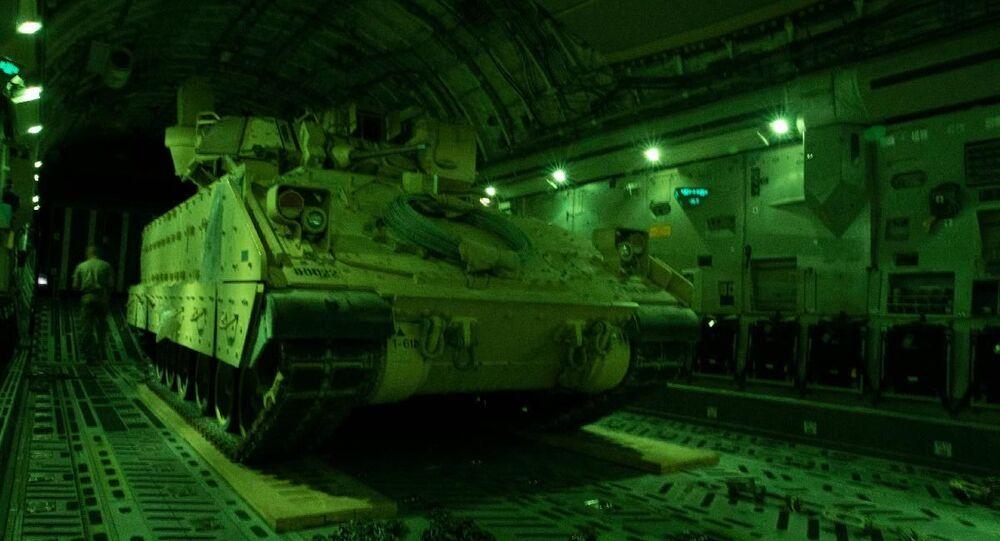 ABD'nin Suriye'nin kuzeydoğusundaki koalisyon güçlerine koruma sağlama amacıyla bölgeye Bradley tipi zırhlı mekanize araçların takviye edileceği belirtildi.