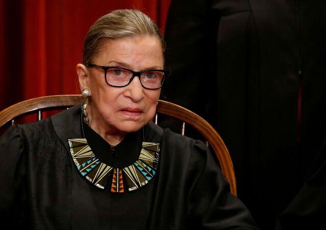 ABD Yüksek Mahkemesi Yargıcı Ruth Bader Ginsburg