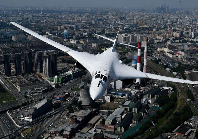 Tu-160 stratejik bombardıman uçağı
