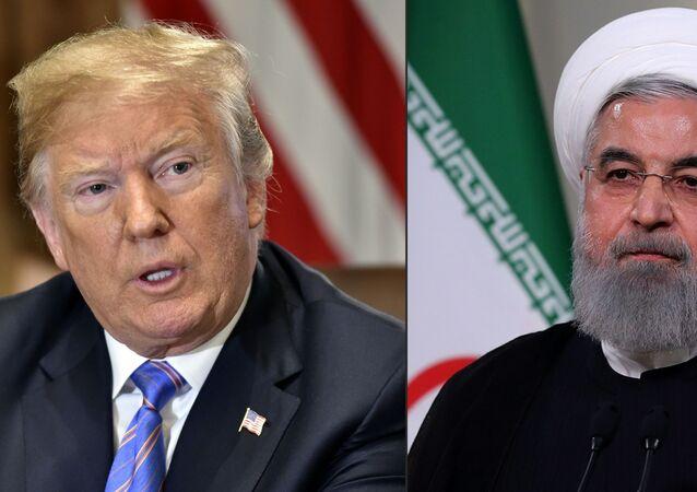 Donald Trump- Hasan Ruhani