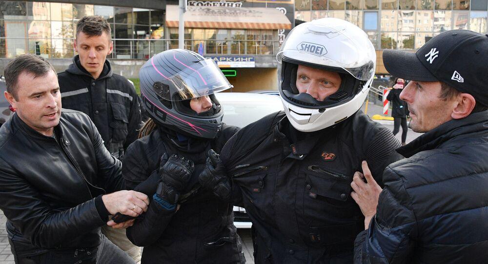 Minsk'teki gösteriler