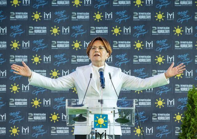 İYİ Parti Genel Başkanı Meral Akşener, ANFA Altınpark'ta düzenlenen İYİ Parti 2. Olağan Kurultayı'na katıldı.