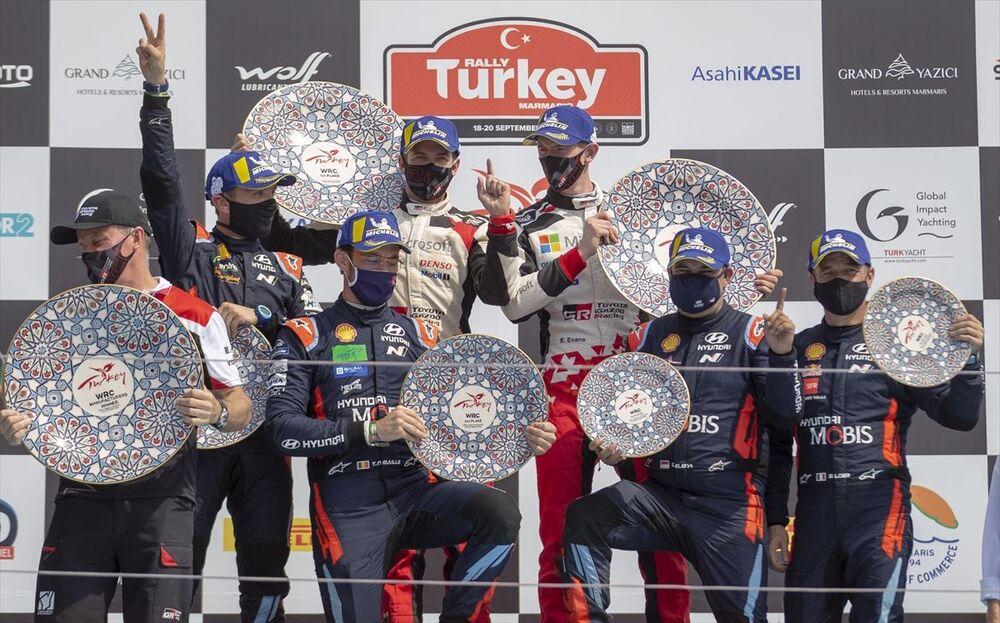 Türkiye Cumhuriyeti Cumhurbaşkanlığı'nın himayesine alınan ve Türkiye Otomobil Sporları Federasyonu (TOSFED) tarafından düzenlenen 2020 FIA Dünya Ralli Şampiyonası'nın 5. yarışı Türkiye Rallisi, 19 ülkeden 130 sporcu ve 65 otomobilin katılımıyla 18-20 Eylül'de Muğla'nın Marmaris ilçesinde yapıldı.