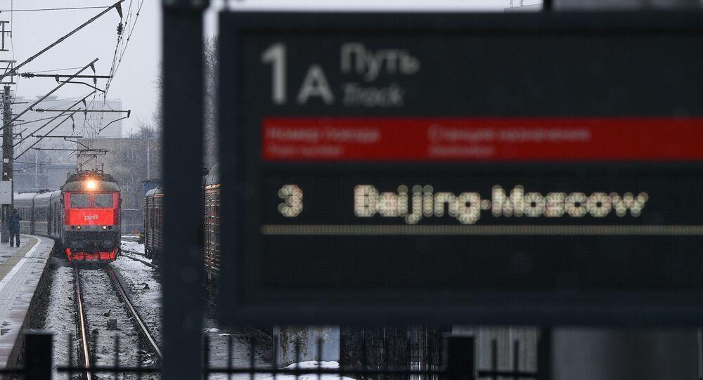 Pekin-Moskova, Yaroslavsky tren istasyonu, Rusya