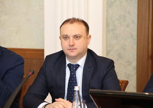 Rusya Federasyonu'na bağlı Başkurtistan Cumhuriyeti'nin Başbakan Yardımcısı ve Ekonomik Kalkınma ve Yatırım Politikası Bakanı Rustam Muratov