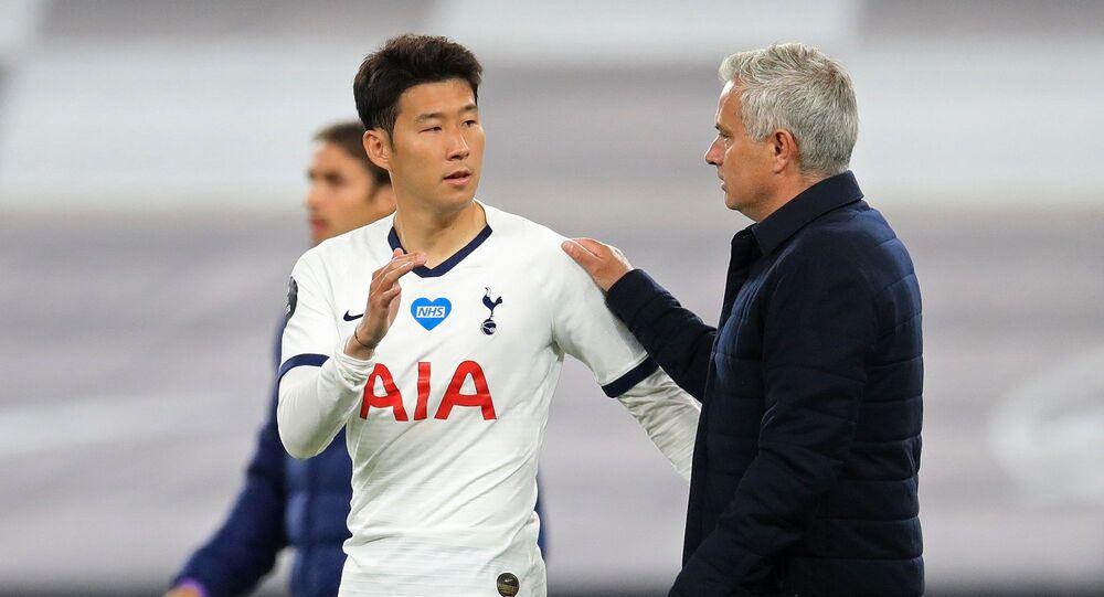 Jose Mourinho - Son Heung-Min