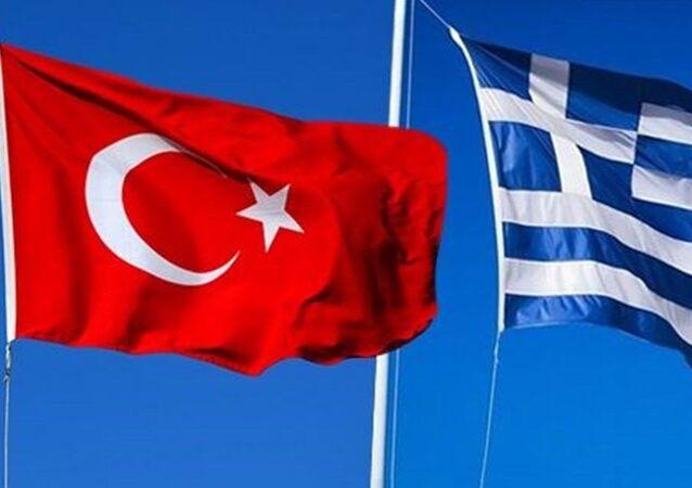 Türkiye Yunanistan bayrak