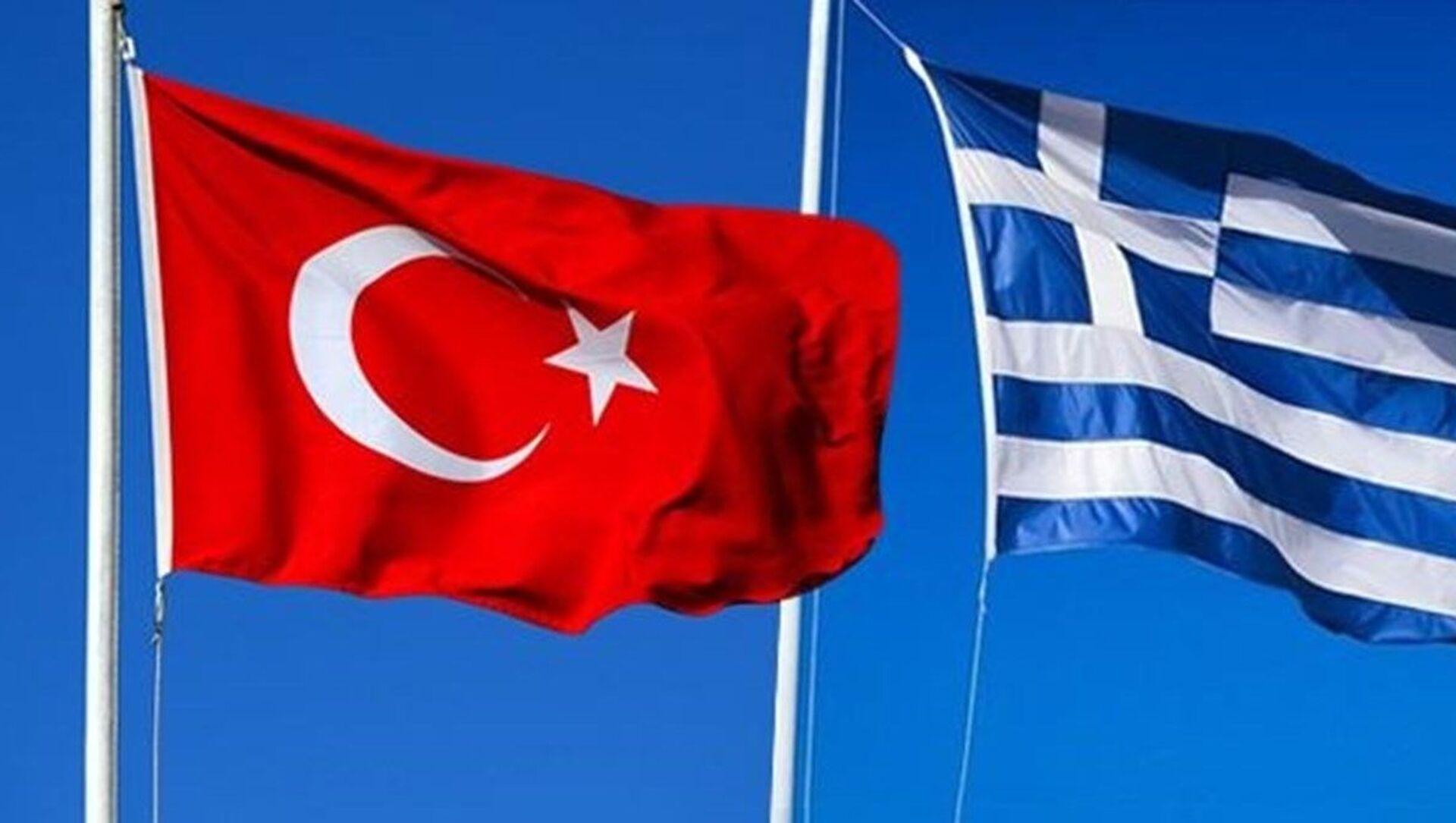 Türkiye Yunanistan bayrak - Sputnik Türkiye, 1920, 01.08.2021