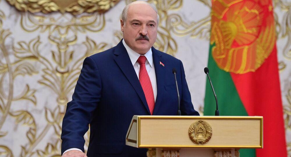 Aleksandr Lukaşenko - yemin etme töreni