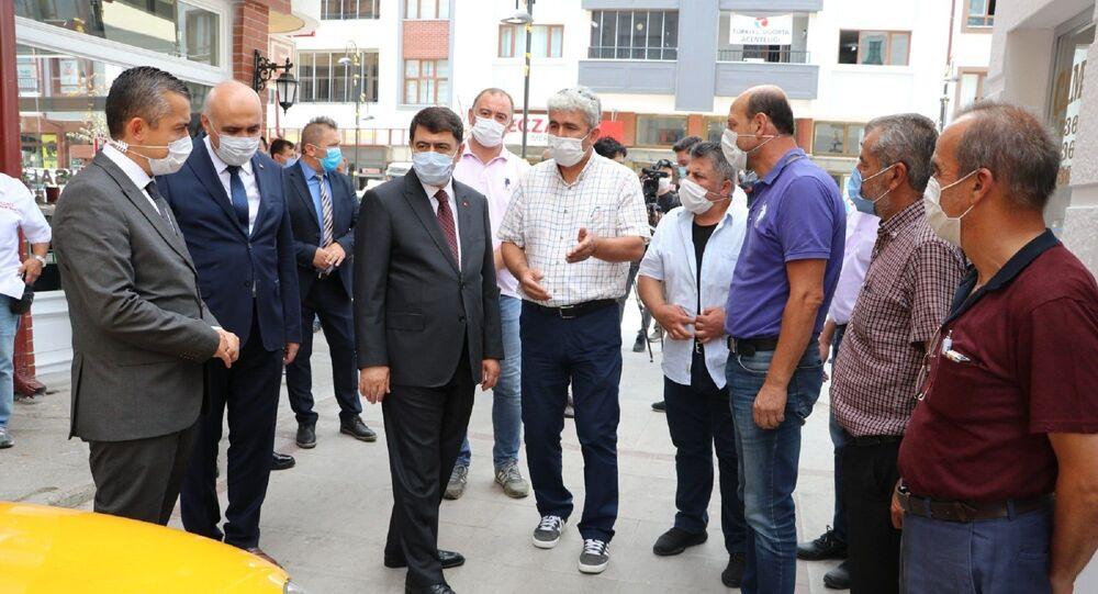 Ankara Valisi Vasip Şahin - koronavirüs denetimi