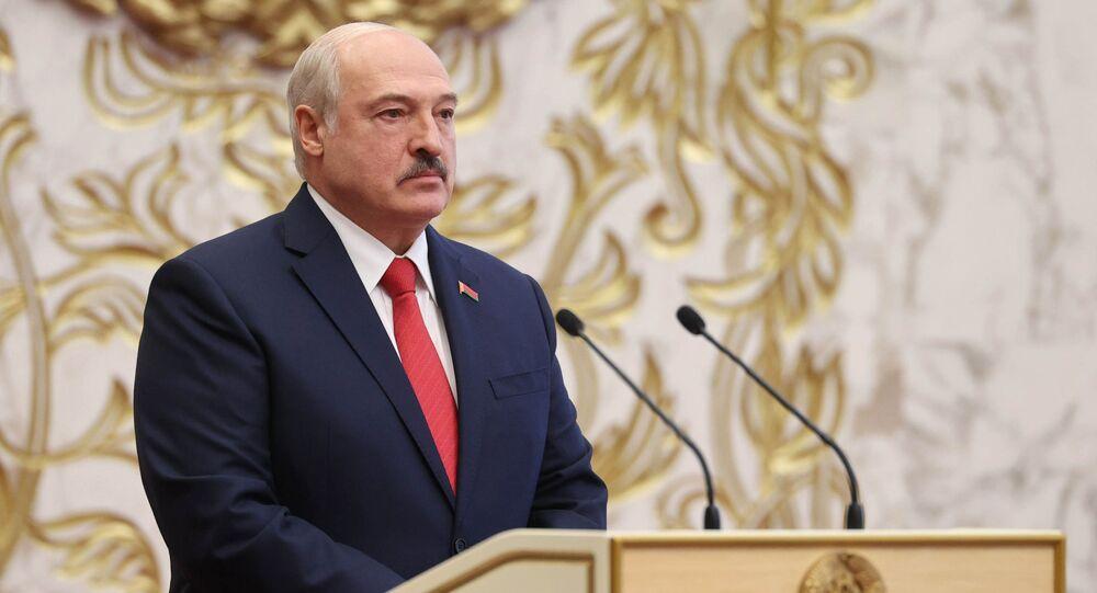 Belarus'ta Devlet Başkanı Aleksandr Lukaşenko