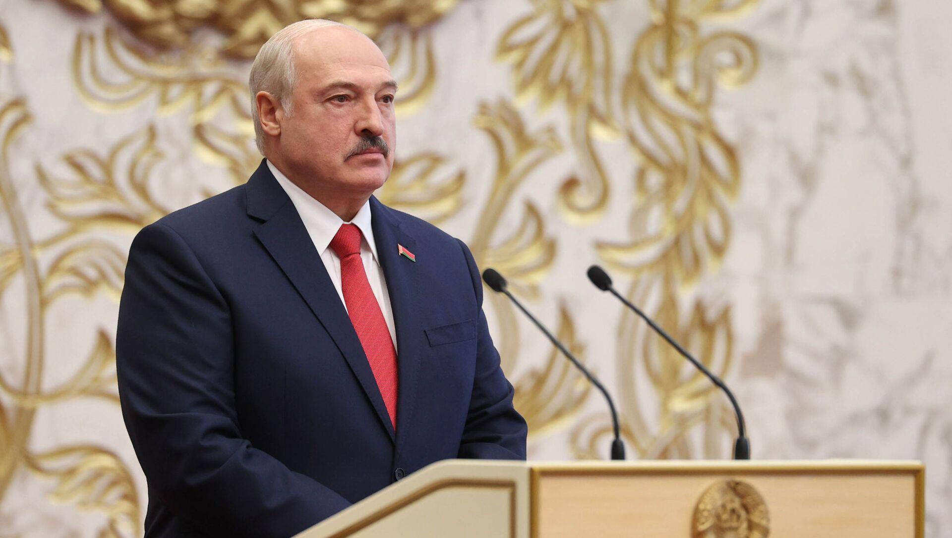 Belarus'ta Devlet Başkanı Aleksandr Lukaşenko - Sputnik Türkiye, 1920, 17.04.2021