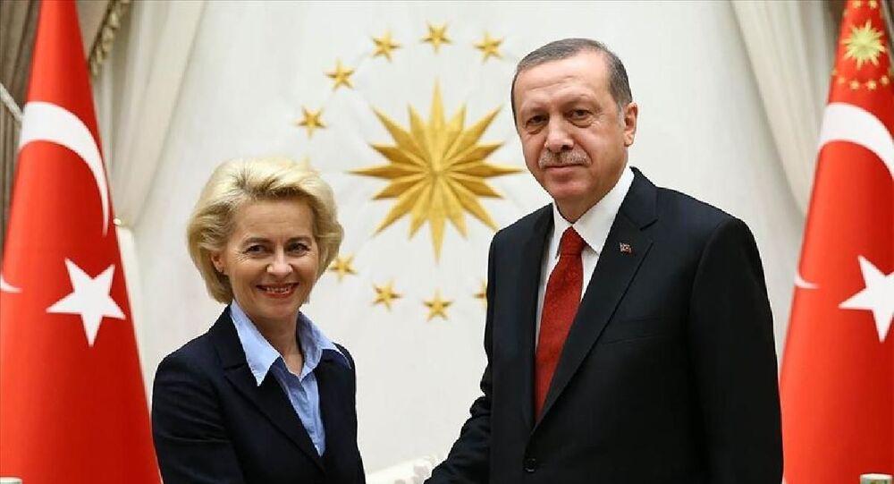 Cumhurbaşkanı Erdoğan, AB Komisyonu Başkanı Ursula Von Der Leyen