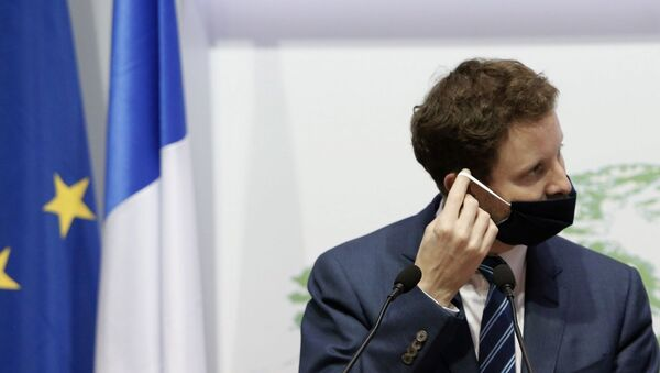 Fransa'nın Avrupa Bakanı Clement Beaune - Sputnik Türkiye