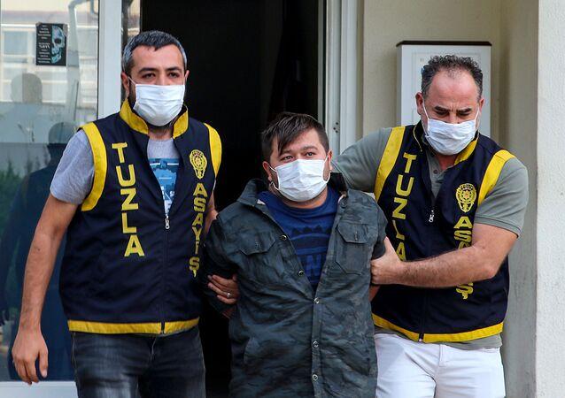 Cihan A. - Tuzla'da polisleri tehdit eden kişi