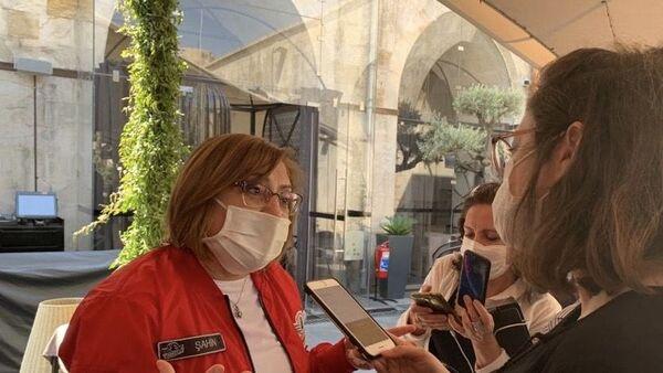 Gaziantep Belediye Başkanı Fatma Şahin Sputnik'in sorularını yanıtladı. - Sputnik Türkiye