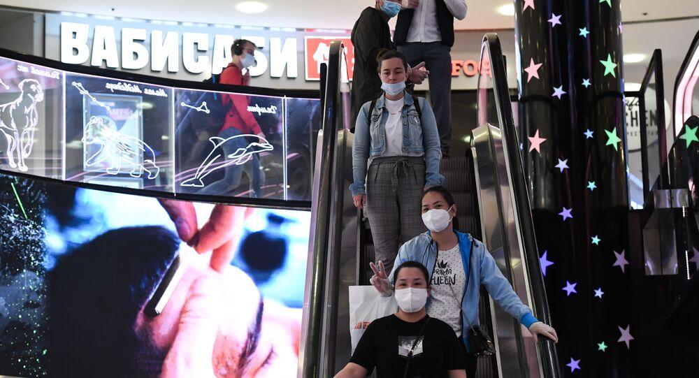 Moskova - AVM - koronavirüs - Kovid-10 - maske - Rusya