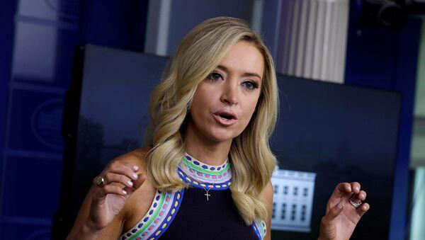 Beyaz Saray Sözcüsü Kayleigh McEnany - Sputnik Türkiye