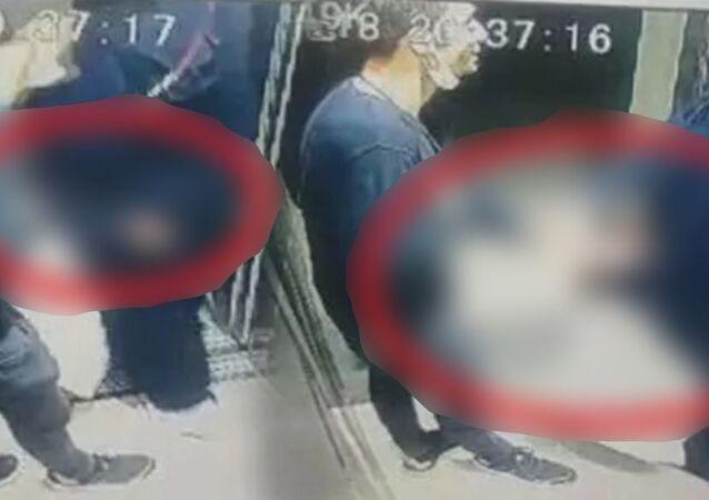 Bursa'da asansörde tacize uğrayan kadın