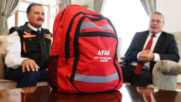 AFAD deprem çantası - Sputnik Türkiye