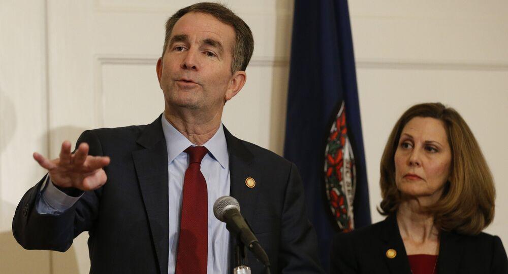 ABD'de Virginia eyaletinin Valisi Ralph Northam ve eşi Pam Northam