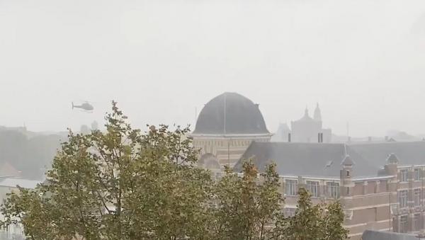 Belçika, Anvers, helikopterle mahkum kaçırma girişimi - Sputnik Türkiye