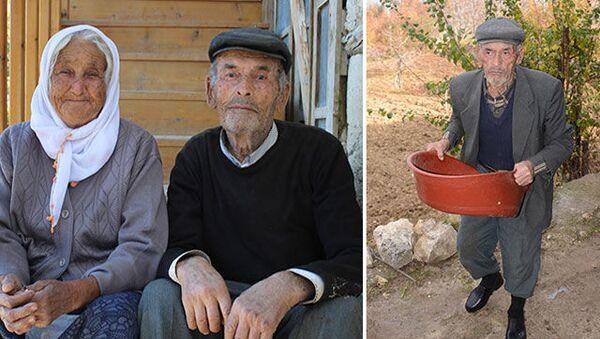 Karaman'ın Ermenek ilçesinde, 2014 yılı Ekim ayında 18 işçinin öldüğü maden faciasında oğlu Tezcan Gökçe'yiyitiren ve cenaze törenine yırtık lastik ayakkabılarıylakatılmasıyla yürekleri burkanRecep Gökçe (79), koronavirüsten hayatını kaybetti. - Sputnik Türkiye