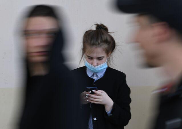 Moskova - koronavirüs - maske